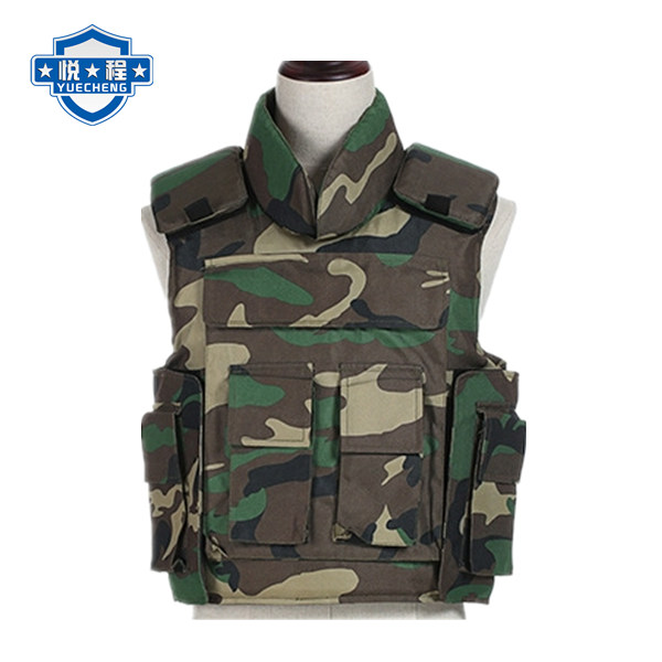 PE bulletproof vest US NIJ IIIA level 9mm and .44