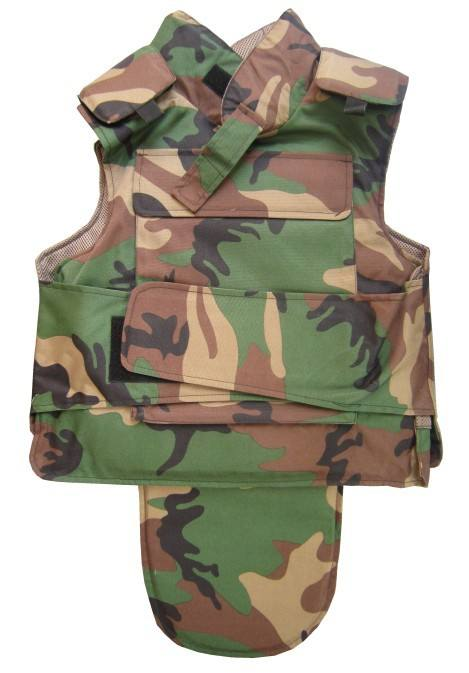 Full defense bulletproof vest US NIJ IIIA level 9mm and .44