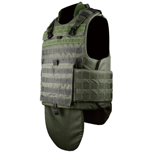 Kevlar Aramid military bulletproof vest US NIJ IIIA level 9mm and .44